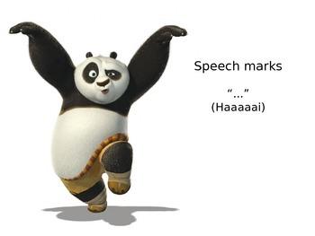 Kung Fu Panda Punctuation Fun