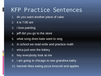 Kung-Fu Punctuation Powerpoint