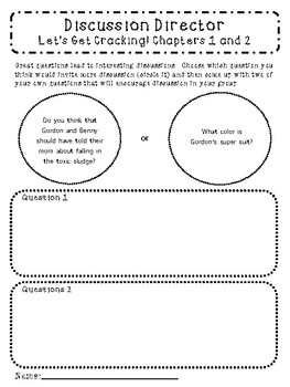 Kung Pow Chicken Let's Get Cracking Guided Literature Circle for Reading