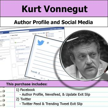 Kurt Vonnegut - Author Study - Profile and Social Media