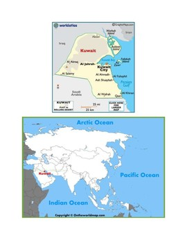 Kuwait Map Scavenger Hunt