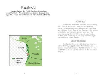 Kwakiutl Informational Text