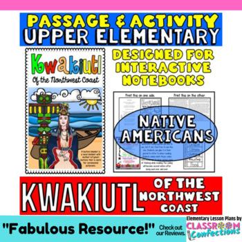 Native Americans: Kwakiutl Passage with Activity