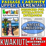 Native Americans: Kwakiutl Passage with Activity