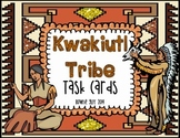 Kwakiutl Native Americans Task Cards/SCOOT