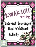 Kwakiutl American Indians of the Northwest Internet Scavenger Hunt WebQuest