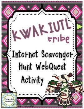 Kwakiutl Tribe - Native Americans Internet Scavenger Hunt