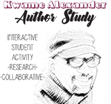 Kwame Alexander Author Study, The Crossover, Booked Author