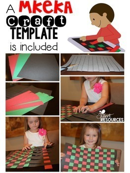 Kwanzaa Interactive Resource Package with Craft and Flip Book