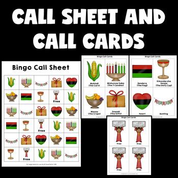 Holidays Around The World Activities Kwanzaa Bingo
