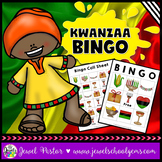 Holidays Around the World Activities (Kwanzaa Bingo)