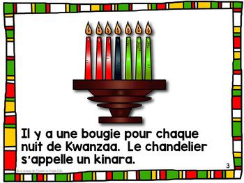 Kwanzaa:  A French Emergent Reader about Kwanzaa