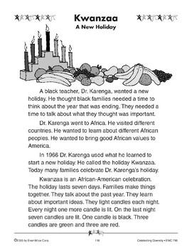 Kwanzaa: A New Holiday