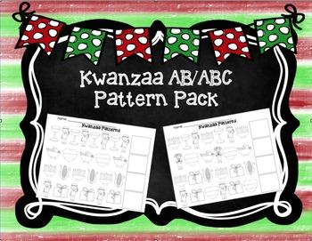 Kwanzaa AB/ABC Pattern Pack