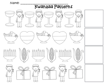 Kwanzaa AB Patterns