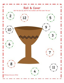 Kwanzaa Addition Roll and Cover