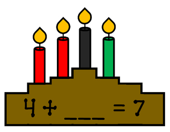 Kwanzaa Addition and Subtraction