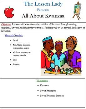 Kwanzaa Art Activities & Lessons