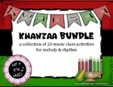 Kwanzaa BUNDLE ~ 19 activities & games for rhythm and melody