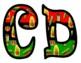 Kwanzaa Bulletin Board Letters