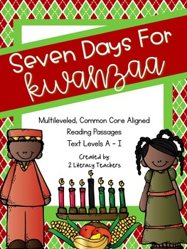 Kwanzaa: CCSS Aligned Leveled Reading Passages and Activities