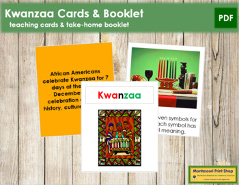 Kwanzaa Cards and Booklet