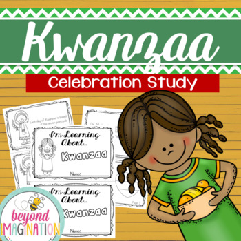 Kwanzaa Celebration Study Fact Booklet for Little Learners