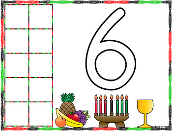 Kwanzaa Centers Activities Math Literacy Shapes Counting Playdough Mats