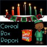 #byebye2020Kwanzaa Cereal Box Report!