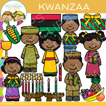 Kwanzaa Clip Art {Holidays Around the World Clip Art}
