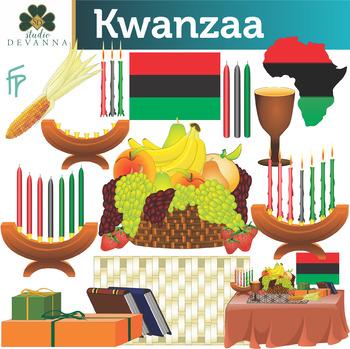 kwanzaa holiday clip art by studio devanna teachers pay teachers rh teacherspayteachers com kwanzaa candles clipart happy kwanzaa clipart
