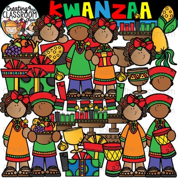 Kwanzaa Clipart {Holidays Around the World Clipart}