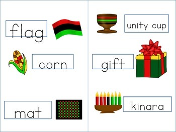 Kwanzaa-Concept Poem, Wordbook, and Cultural Recipe