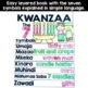 Kwanzaa Craft and Flip Book Activity Bundle