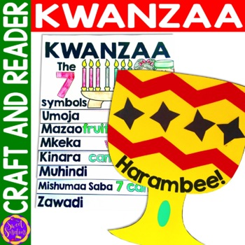 Kwanzaa Craft and Flip Book Activity Bundle