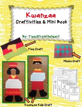 Kwanzaa Craftivities and Mini Book (3 crafts!)