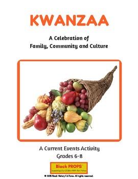Kwanzaa/Current Events Activity