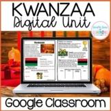 Kwanzaa DIGITAL Distance Learning Unit for GOOGLE Classroom