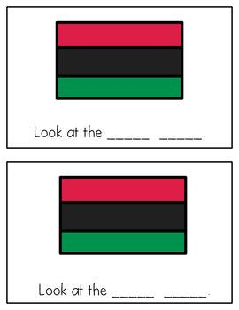 Kwanzaa Differentiated Emergent Reader with Focus Words Look, At, The