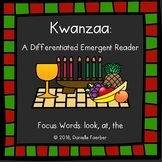 Kwanzaa Differentiated Emergent Reader with Focus Words Lo