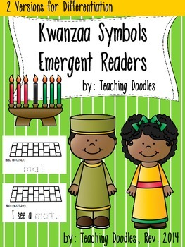 Kwanzaa Differentiated Emergent Readers
