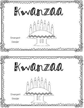 Kwanzaa Emergent Reader