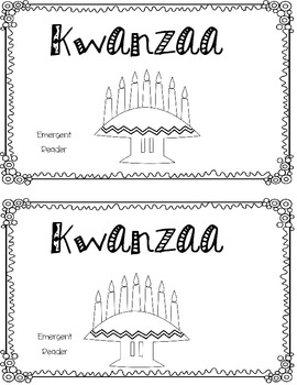 Kwanzaa Emergent Reader