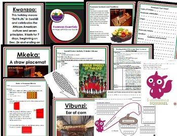 Kwanzaa Essentials: A K-3 Common Core Unit