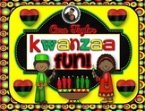 Kwanzaa Fun ~ A Nonfiction Unit for Young Learners (Black History)