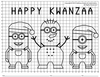 Kwanzaa Helpers Mystery Picture