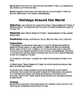 Kwanzaa - Holidays Around the World