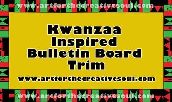 Kwanzaa Inspired Bulletin Board Trim