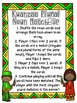 Kwanzaa Kids! Irregular Plural Noun Card Games
