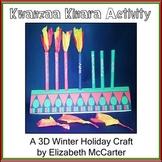 Kwanzaa Kinara Activity - A 3D Winter Holiday Craft